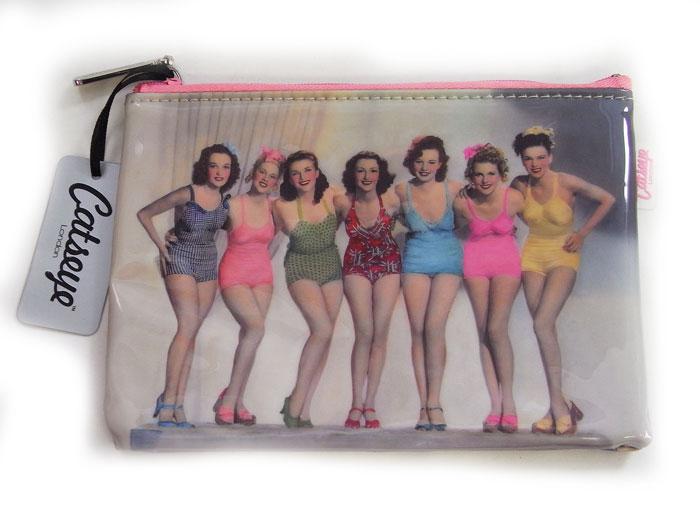 美しい女性たちの可愛いバック♪ フラットバッグ 水着ガールズ[Catseye][ガールズグッズ 雑貨]