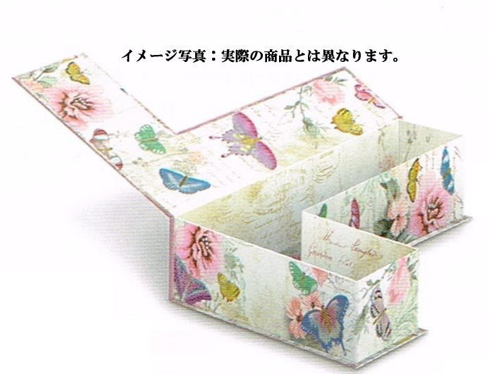 [Punch Studio] decorative letter storage BOX initial K royal Peacock series  punch studio card, accessory case, lapping gift box display