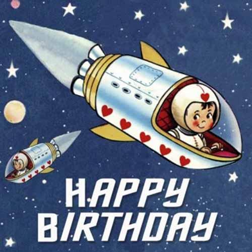 Kaderia Rex Birthday Card Space Boy Boy Birthday Card Rakuten