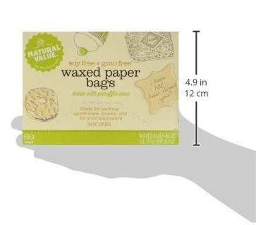 Waxpaper Oil Ng With 60 Pieces Of Natural Value Wax Paper Bags Resistant