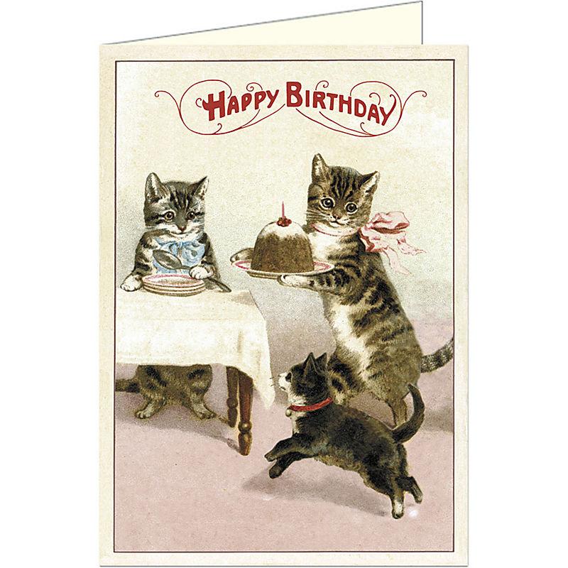 Kaderia 1718cavalliniampco Birthday Card Cats Party