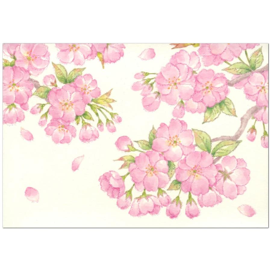 Kaderia Multipurpose Cherry Tree Card Sanrio Sanrio Card Greeting