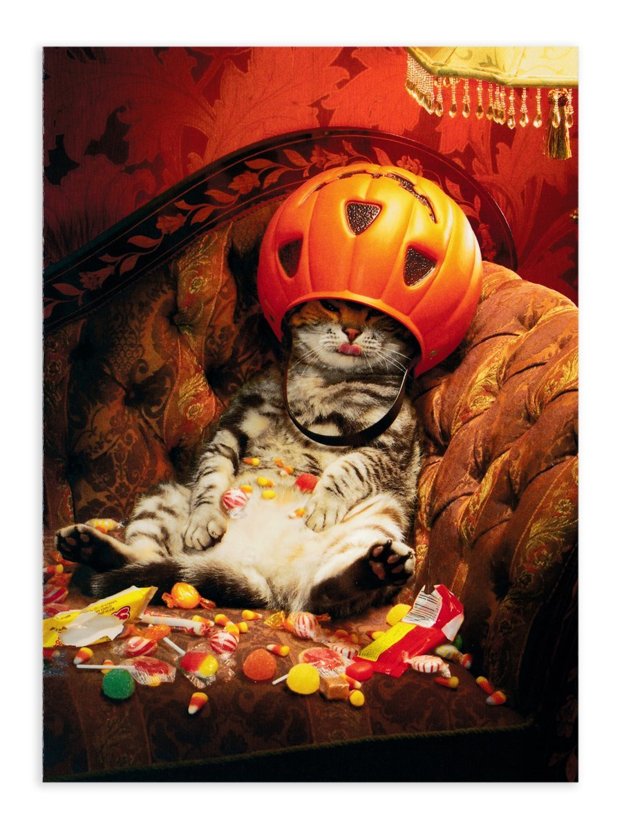 KADERIA: The decoration that AVANTI PRESS Halloween greeting card ...