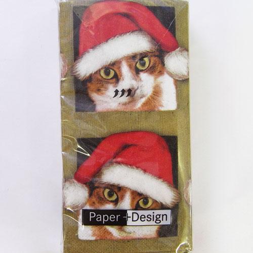 Christmas stockings paper napkins Let it snow paper napkins for decoupage.