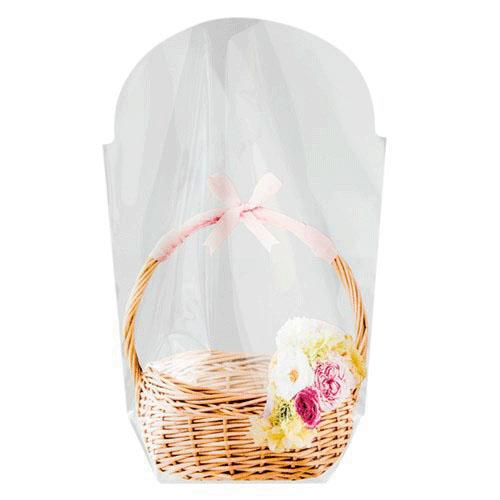 春の新作シューズ満載 ちょっとしたプレゼントに便利な小分け袋 日本製 フォトプリント スタンドバッグ 花かごS 10枚入りヘッズ おすそわけ 通常便なら送料無料 ラッピング OPP袋 小分け 透明袋お菓子