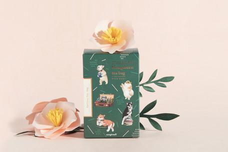 6種類の異なる絵柄の袋に個包装された 通信販売 ティーバッグのセットです Gongdreen アールグレイティー 犬 ティーバッグ ゴンドリーンインスタ映え紅茶 プチギフト お礼 5☆好評 イヌ ドッグ