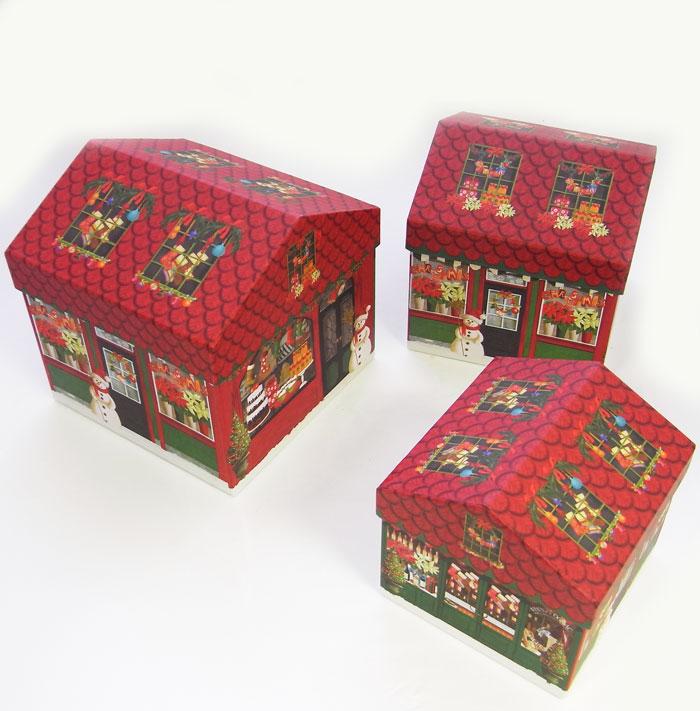 KADERIA | Rakuten Global Market: House box 3 size set Christmas ...