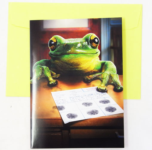 Kaderia Fingerprint Avanti Message Gift Card Greeting Birthday