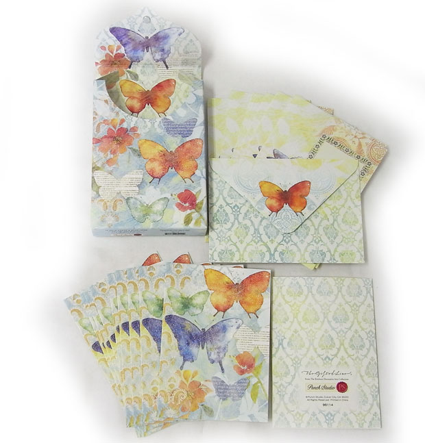 Kaderia rakuten global market punch studio a porch card set let alone a card and an envelope among a table the other sides of box printing that is all beautiful is done m4hsunfo