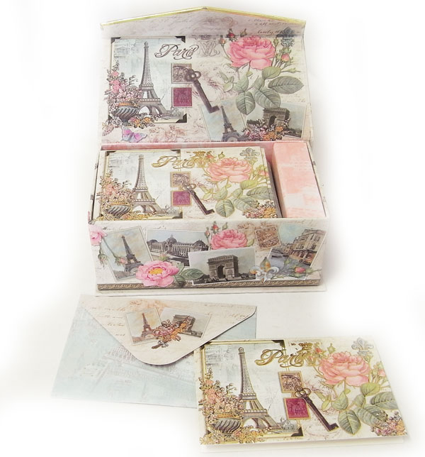 Kaderia rakuten global market punch studio the music box card a card and ten pieces of envelopes are set entering music box deluxe box it is recommended to a gift paris rose an envelope for each ten pieces of m4hsunfo