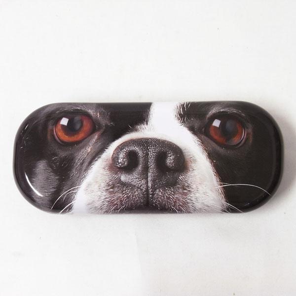 玻璃案法国斗牛犬了 741 842 [猫眼,狗玩具狗小玩意镜片的案例太阳镜案例的狗,狗,狗,狗,狗