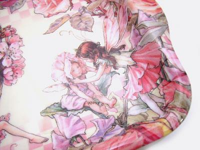 三聚氰胺托盘S尺寸花妖精[Cicely Mary Barker]shishirimearibaka妖精