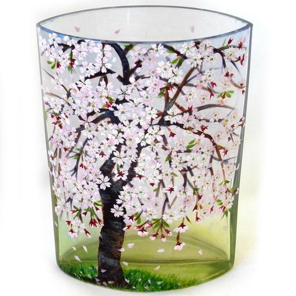 Kaderia Cherry Blossom Pot Flower Base Vase Cherry Tree Of The