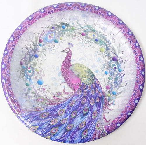 KADERIA | Rakuten Global Market [Punch Studio] a round shape plate L Peacock race punch studio peacock plate made of paper a plate tableware ...  sc 1 st  Rakuten & KADERIA | Rakuten Global Market: [Punch Studio] a round shape plate ...