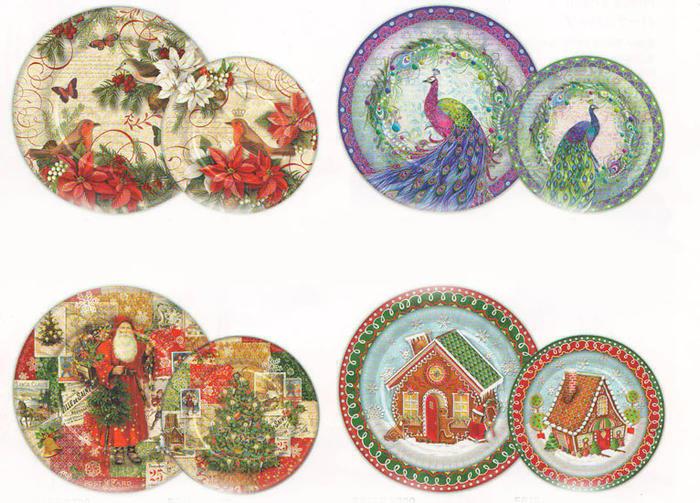 KADERIA | Rakuten Global Market: [Punch Studio] a round shape plate ...
