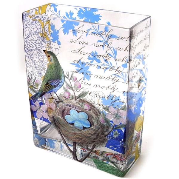 Kaderia Living Livenobly Fringe Studiolily Vase Vase Flower Base