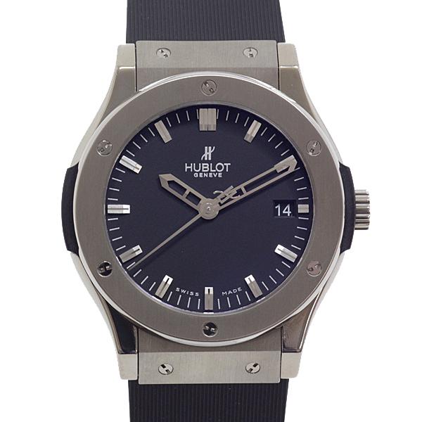 [ウブロ]HUBLOT メンズ腕時計 クラシックフュージョン ジルコニウム 511.ZX.1170.RX ブラック(黒)文字盤【中古】