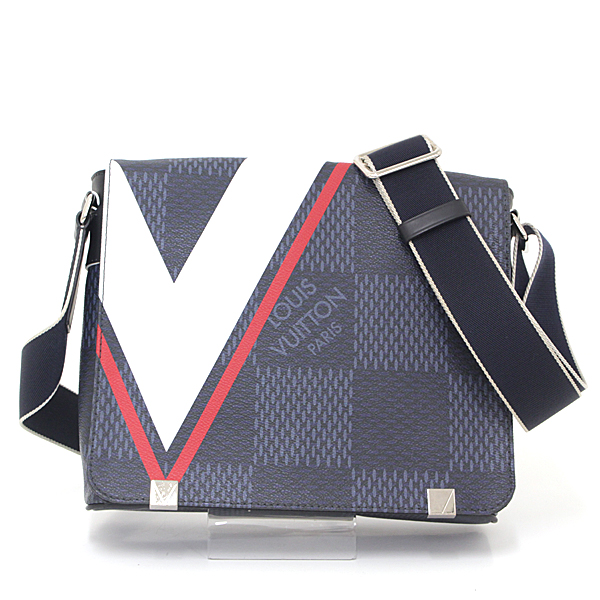 e4991a954f25 It is shoulder bag men at America s Cup N44003 messenger bag bias for Louis  Vuitton LOUIS VUITTON ディストリクト PM NM ダミエ cobalt 2