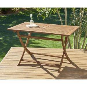 ■4.5倍ポイント■ベンチのサイズが選べる アカシア天然木ガーデンファニチャー Efica エフィカ テーブル W120[4D][00]