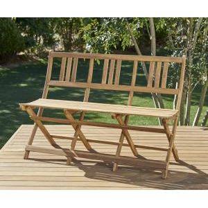 ■4.5倍ポイント■ベンチのサイズが選べる アカシア天然木ガーデンファニチャー Efica エフィカ ガーデンベンチ 3P[4D][00]