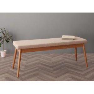 ■5倍ポイント■北欧デザイン スライド伸縮テーブル ダイニングセット SORA ソラ ベンチ 2P[00]