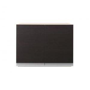 ■5倍ポイント■開梱設置付 奥行41cmの薄型モダンデザインキッチン収納 Sfida スフィーダ 上棚 幅60[4D][00]