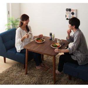 ■5倍ポイント■4段階で高さが変えられる 天然木ウォールナット材高さ調整こたつテーブル Nolan ノーラン 正方形(75×75cm)[00]