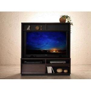 ■5倍ポイント■低めで揃える壁面収納ハイタイプテレビ台シリーズ Flip side フリップサイド テレビボード[1D][00]