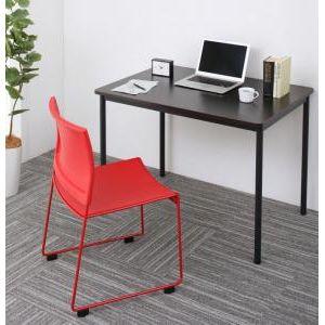 ■5倍ポイント■多彩な組み合わせに対応できる 多目的オフィスワークテーブルセット ISSUERE イシューレ 2点セット(テーブル+チェア) W100[4D][00]