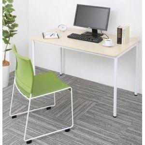 ■5倍ポイント■多彩な組み合わせに対応できる 多目的オフィスワークテーブルセット ISSUERE イシューレ 2点セット(テーブル+チェア) W120[4D][00]