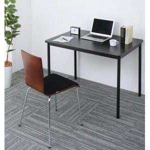 ■5倍ポイント■多彩な組み合わせに対応できる 多目的オフィスワークテーブルセット CURAT キュレート 2点セット(テーブル+チェア) W100[4D][00]