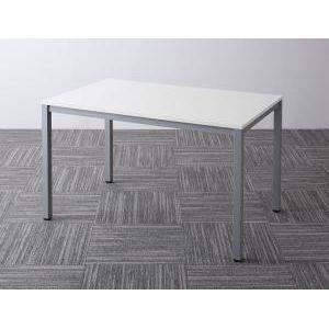 ■5倍ポイント■ミーティングテーブル Sylvio シルビオ オフィステーブル W120(単品)[4D][00]