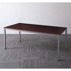 ■5倍ポイント■ミーティングテーブル Sylvio シルビオ オフィステーブル W180(単品)[4D][00]