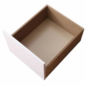 ?4.5倍ポイント?コンセント付き収納ケースも入る大容量収納ホワイトベッド Crocus クロキュス 専用別売品 引き出し4杯[00]