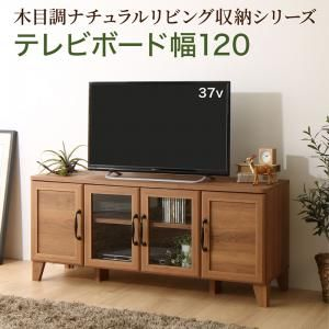 ■10.5倍ポイント■木目調ナチュラルリビング収納シリーズ Ethyl エシル テレビボード 幅120(単品)[4D][00]