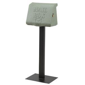 ■10倍ポイント■MAIL BOX リッド グリーン SI-2881-GR 【代引不可】 [01]