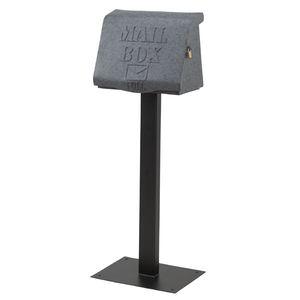 ■10倍ポイント■MAIL BOX リッド グレー SI-2881-GY 【代引不可】 [01]