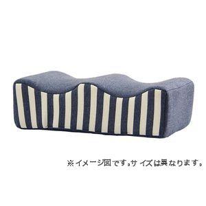 ポイント6.5倍 クッション 足枕 フットケア 足首 むくみ 疲れ 対策 ネイビー 約45×25cm シンプル 正規認証品 新規格 代引不可 13 買い物 睡眠 ウレタン
