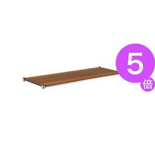 ■5倍ポイント■エレクター ブランチシェルフ W1200×D450mm ナチュラル H1848BN1 1枚[21]