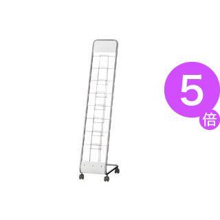 ■5倍ポイント■トヨダプロダクツ パンフレットスタンド 1列7段 A4サイズ LAR-107PS 1台[21]