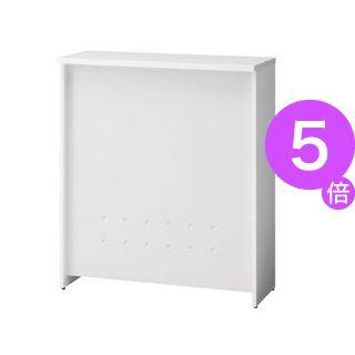 ■5倍ポイント■プラス ハイカウンター BF-09H W4/W4 ホワイト[21]