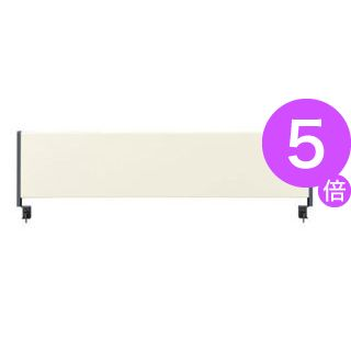 ■5倍ポイント■林製作所 デスクトップパネル/オフィス用品 【スチールタイプ 幅140cm用】 アイボリー YSP-S140IV[21]