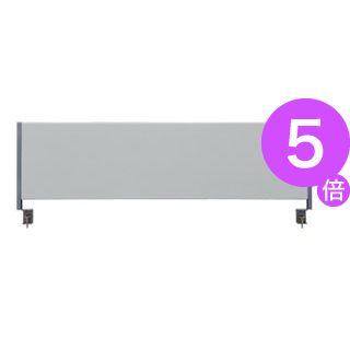 ■5倍ポイント■林製作所 デスクトップパネル/オフィス用品 【クロスタイプ 幅120cm用】 グレー YSP-C120GY[21]