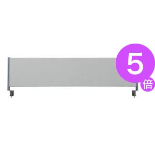 ■5倍ポイント■林製作所 デスクトップパネル/オフィス用品 【クロスタイプ 幅140cm用】 グレー YSP-C140GY[21]