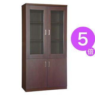 ■5倍ポイント■プレジデント用書棚 PXG-918B 【社長室、役員用家具】[21]