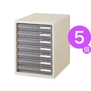 ■5倍ポイント■(業務用10セット) プラス レターケース LC-107A A4 浅7 ホワイト[21]