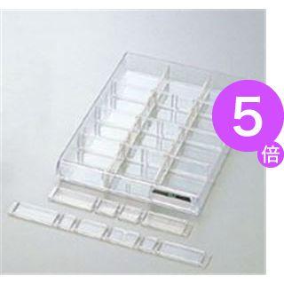 ■5倍ポイント■(業務用50セット) プラス レターケース仕切板 LC-902A[21]