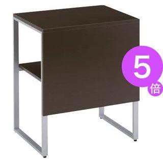 ■5倍ポイント■コーナーテーブル LP-600CT ブラックウッド[21]