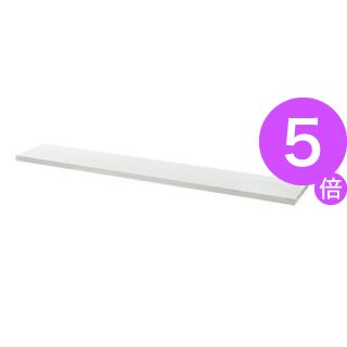 ■5倍ポイント■プラス 平机用棚板 LJ/RJ-16TI エルグレー W1600用[21]