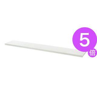 ■5倍ポイント■プラス 平机用棚板 LJ/RJ-16TI ホワイト W1600用[21]